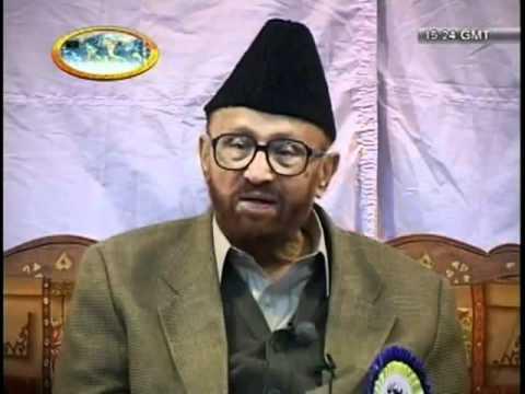Sahibzada Mirza Waseem Ahmad Sahib Marhoom Advise to Jamia Ahmadiyya Qadian Students.