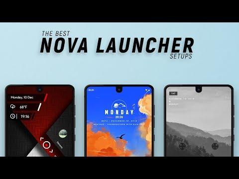 The Best Nova Launcher Setups #20