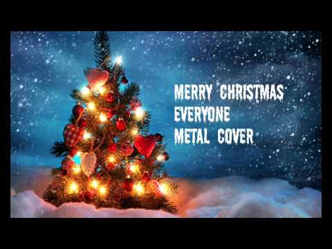 merry christmas everyone metal cover youtube