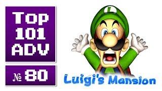 Top 101 Action-Adventures aller Zeiten #80 » Luigi's Mansion (2001)