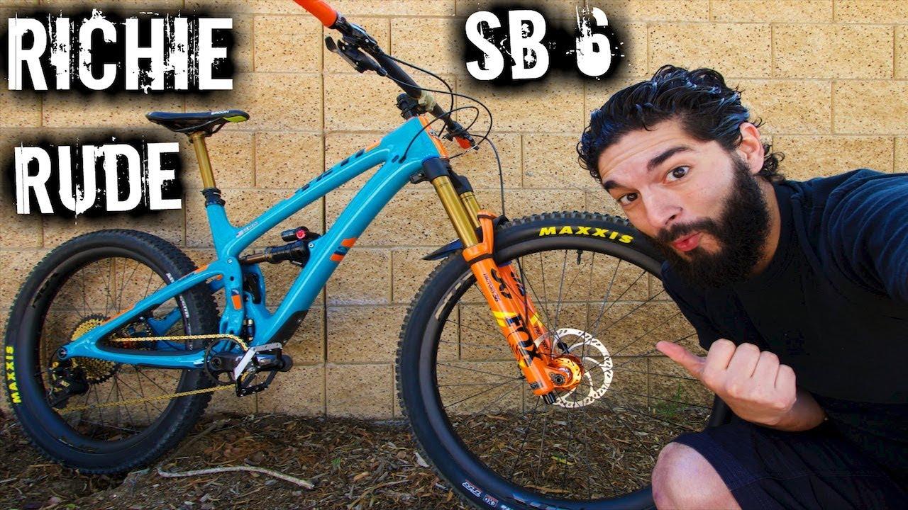 Did I just Ride Richie Rude's Yeti SB6? | Yeti SB6 Team Build | Yeti SB6  Mountain Bike Review | SB6