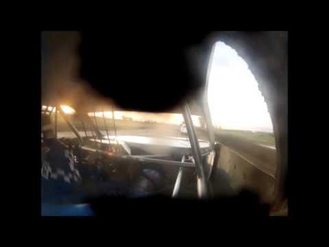 Justin Regnerus #32 7-12-14 Park Jefferson Speedway IMCA Stock Car Feature