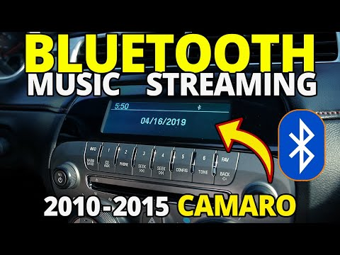 How To Connect Bluetooth 2010 - 2015 Camaro For Music Streaming