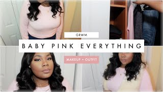 GRWM: BABY PINK EVERYTHING! (MAKEUP + OUTFIT) FT. MOONCATS  | Mary Elizabeth