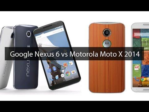Motorola Moto X 2014 vs Google Nexus 6, comparativa (en ...