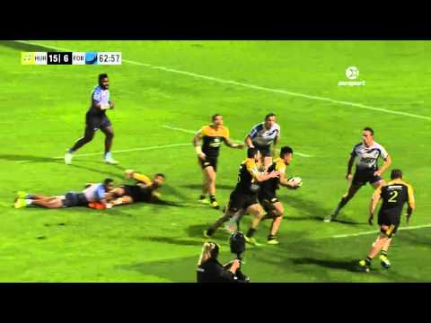 Super Rugby: Hurricanes V Force (Round 4)