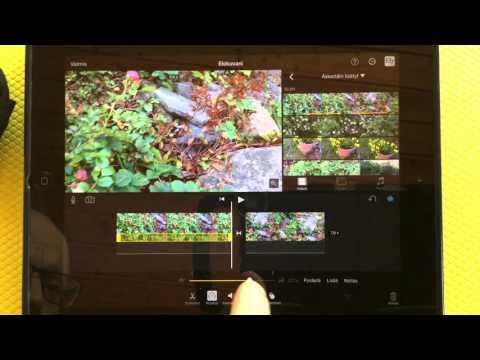 iMovie videon teko iPadilla