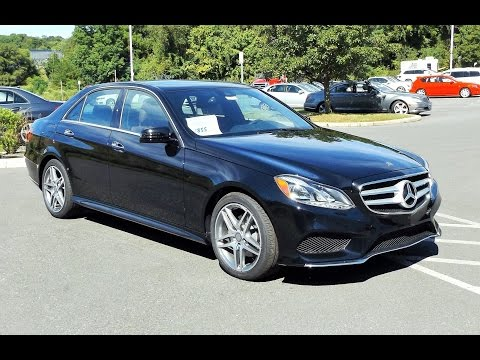 2016 Mercedes-Benz E350 E-Class 4MATIC 3.5L V6 Start Up, Tour and Review