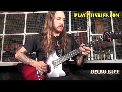 """BLACK TUSK guitar lesson """"Fixed In The Ice"""" (Part 1)"""