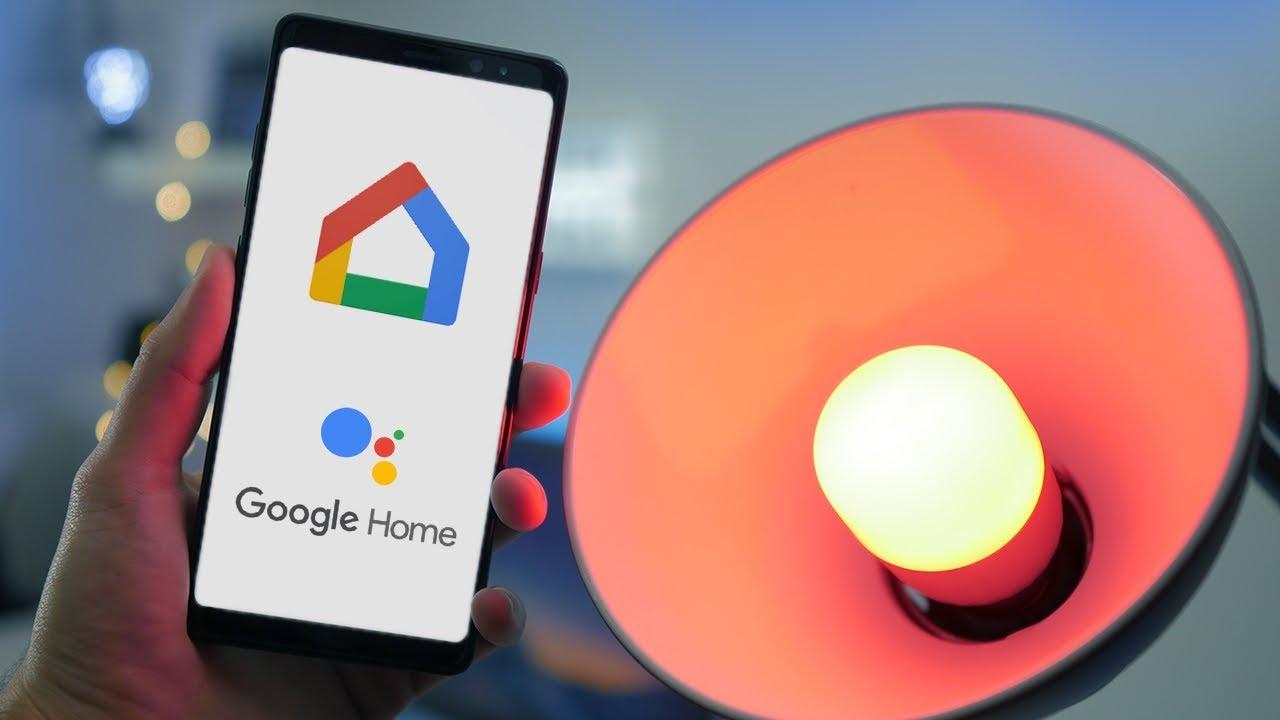 associer un objet connect avec google home tuto youtube. Black Bedroom Furniture Sets. Home Design Ideas