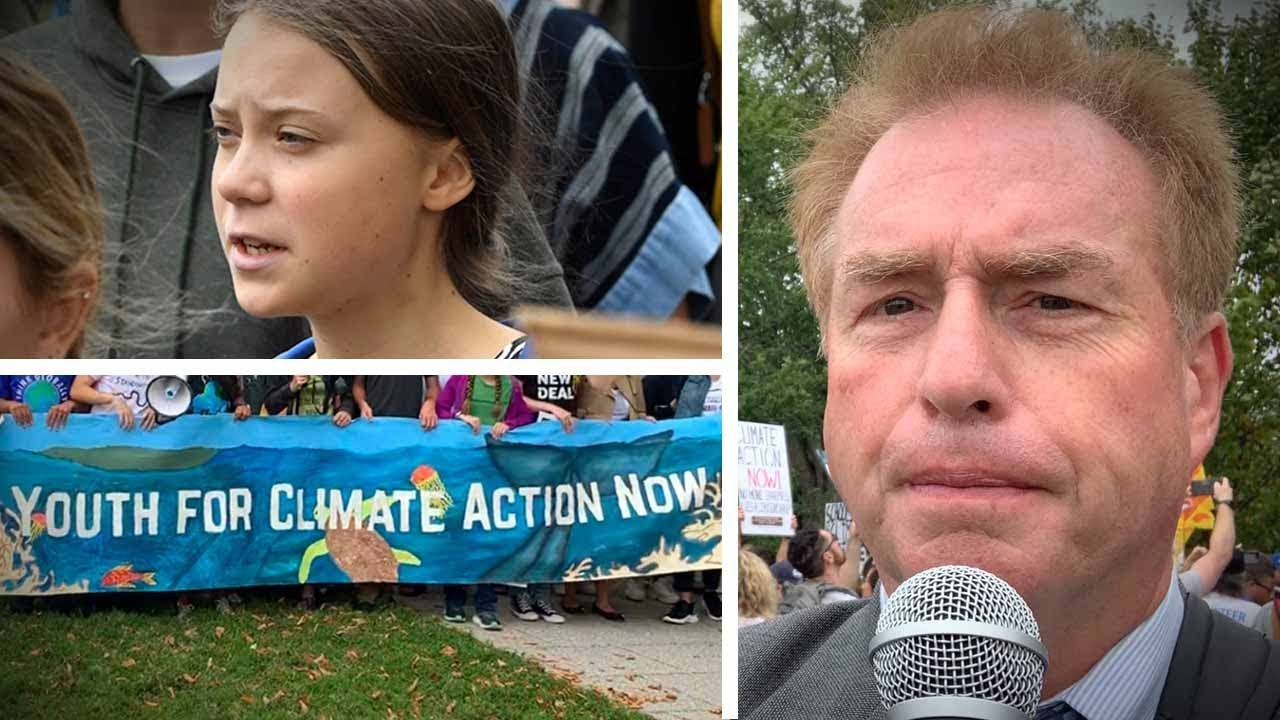"The ""Dr. King"" of climate change: Greta Thunberg goes to Washington 