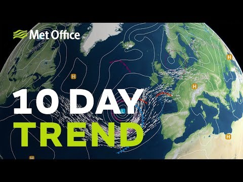 10 Day Trend – Any Signs Of Sunny Weather Returning? 07/08/19