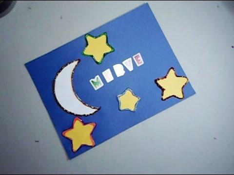 Como hacer un cartel para tu cuarto manualidadesconninos for 1 cuarto de cartulina