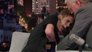 David Letterman Scolds Justin Bieber for His New Tattoo