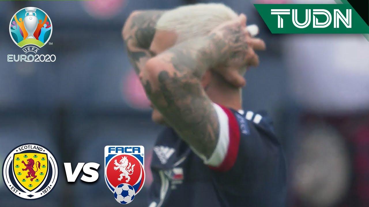 ¡POSTE! Bombazo al travesaño | Escocia 0-1 República Checa | UEFA Euro 2020 | Grupo D-J1 | TUDN