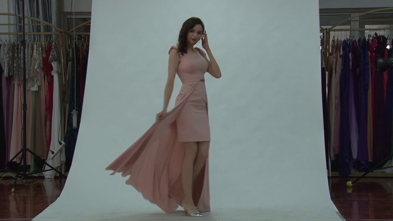 2018 SS Collection - Sweet Pink Party Wear, Christmas Gown ...