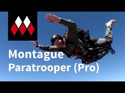 Montague Paratrooper & Paratrooper Pro Folding Bikes Overview