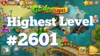 GARDENSCAPES HIGHEST LEVEL 2601