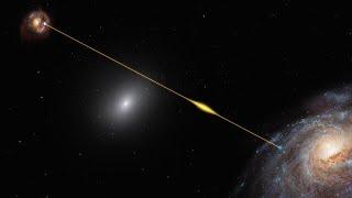 ESOcast 207 Light: Enigmatic radio burst illuminates a galaxy's tranquil halo (4K UHD)