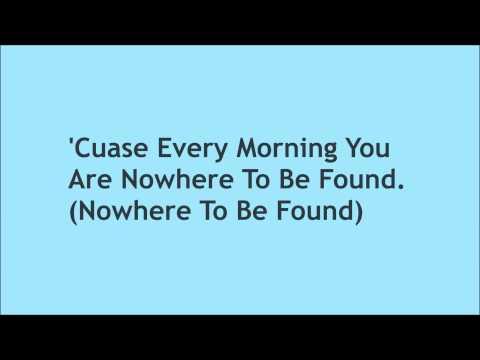 Lovesick Fool - The Cab - Lyrics On The Screen