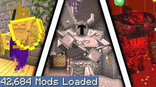 Minecraft but I downloaded every single mod again 2...