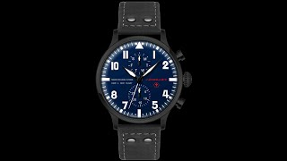 RELOJ DE AVIADOR TYPE 1 MAX IMMELMANN video