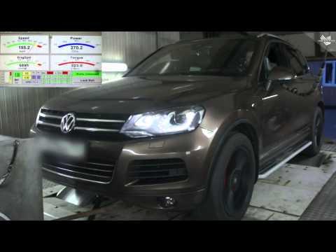 VW Touareg NF 3.6 FSI 2015 г.в., чип тюнинг Stage1