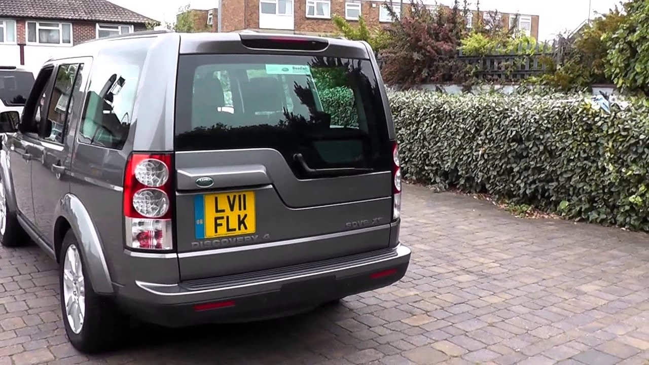 2011 Land Rover Discovery 4 Stornoway Grey XS 3l LV11FLK at