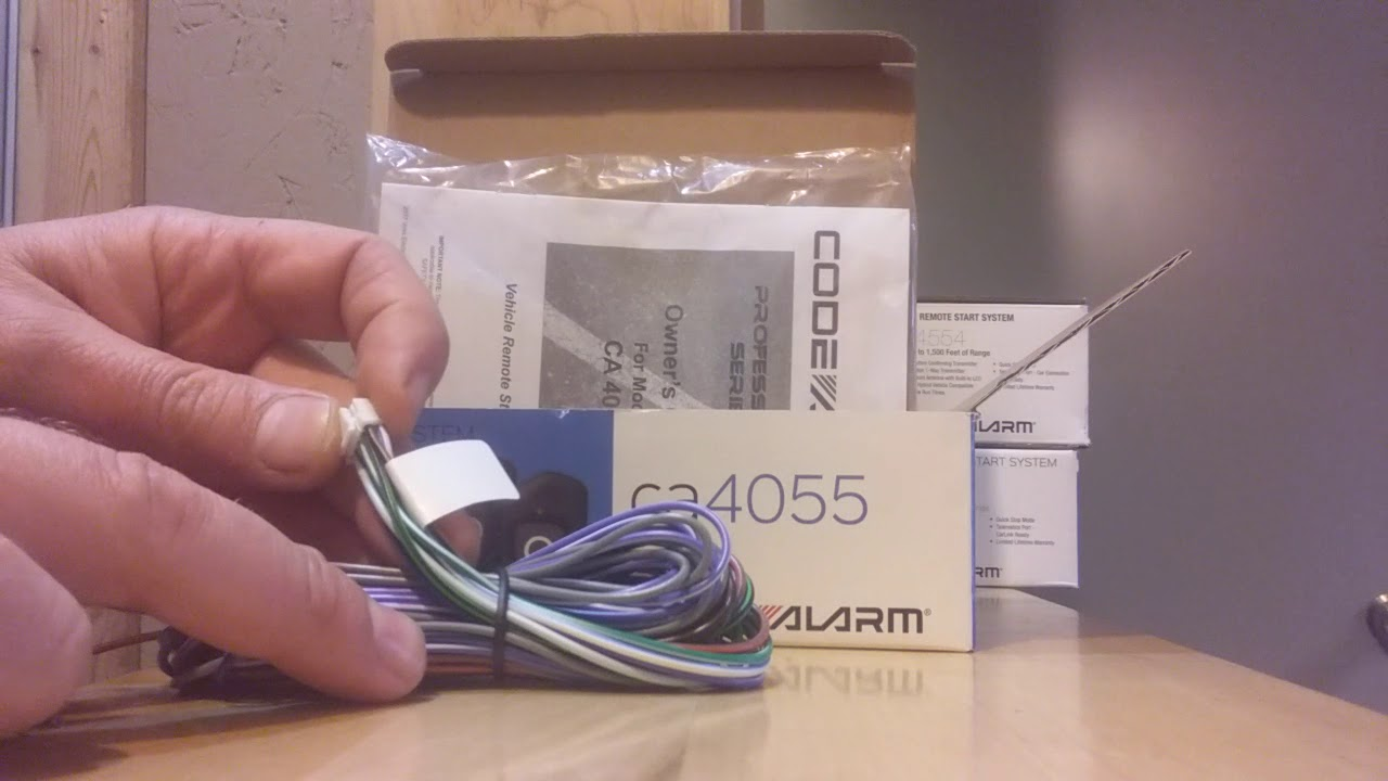 medium resolution of code alarm ca4055 unboxing alleycat electronics effingham remote start