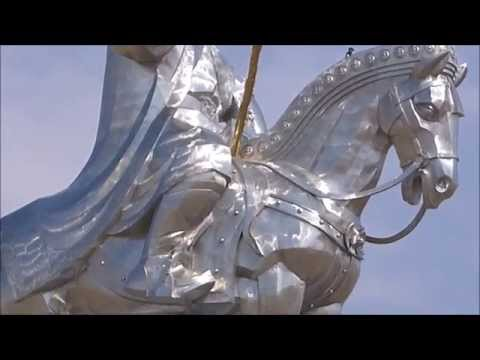 The Genghis Khan Equestrian Statue Ulaanbataar Mongolia
