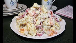Рецепт из цветной капусты! Салат намного вкуснее и запеканка не нужна