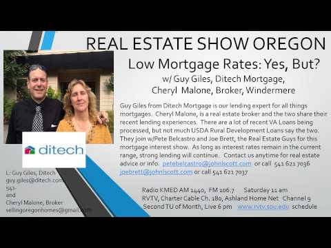 Real Estate Medford - Mortgage Rates Low?  Yes, but?