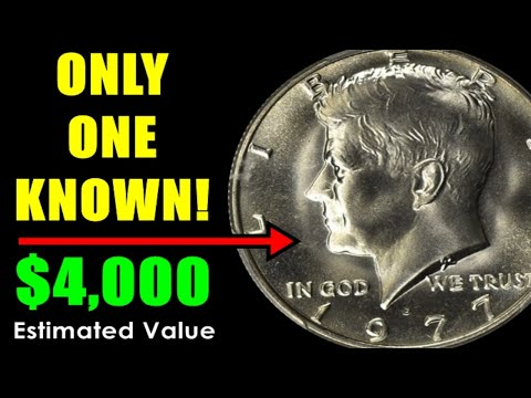 1977 KENNEDY HALF DOLLARS THAT YOU NEED TO FIND - TREASURED EXAMPLE VALUED  $4,000!