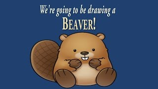 How to Draw a Cute Little Beaver | Easy Drawing | ArtNinja