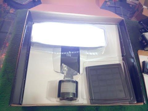 Solar Lights outdoor 80 LED Solar Powered Security Lights Waterproof Outdoor Motion Sensor Lighting