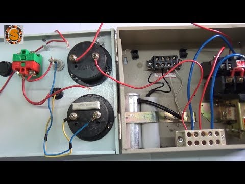 Submersible Starter Connection In Hindi Youtube