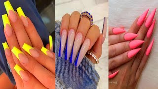 15 Cool Acrylic Nail Ideas to Spice Up Your Look _ The Best Nail Art Designs Tutorial Compilations
