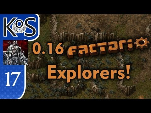0.16 Factorio Explorers! Ep 17: BITING BACK AT BITERS - Coop with Xterminator, MP Gameplay