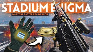"""WARZONE Stadium Easter Egg: How to Unlock the NEW Secret """"Enigma"""" Weapon!"""