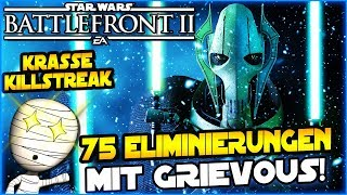 75 Eliminierungen mit Grievous! - Star Wars Battlefront II #153 - Lets Play deutsch Tombie
