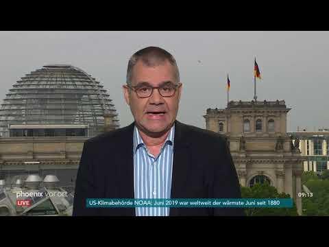 Alexander Kähler zu den Themen der Sommer-Pressekonferenz von Angela Merkel am 19.07.19