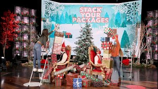 Festive Fans Win Big in 'Stack Your Packages'!