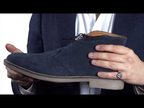 Prestige Chukka Boots: French Blue