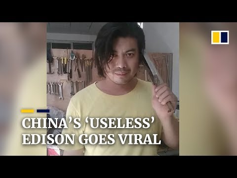 China's 'useless' Edison goes viral for crazy inventions
