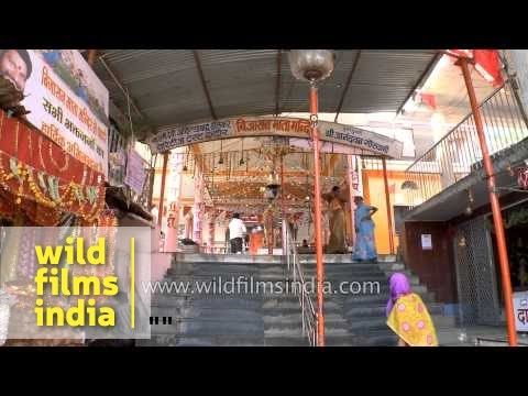 Devotees at Bijasan Temple, Indore
