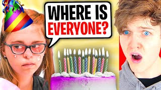Kids DON'T GO TO Girl's BIRTHDAY, What Happens Is Shocking!? (LANKYBOX REACTS TO DHAR MANN!)