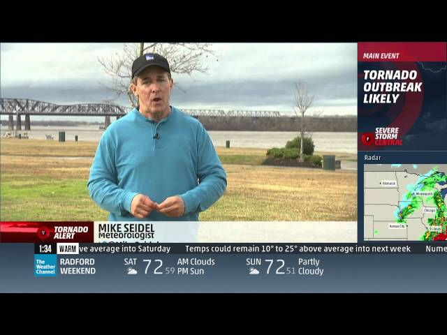 December 23, 2015 Tornado Coverage (1pm-6pm) - The Weather Channel