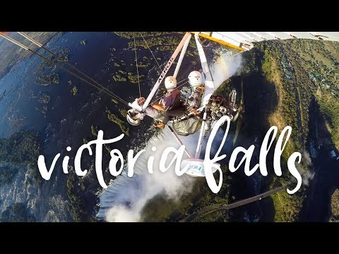 Visiting Victoria Falls from Zimbabwe and Zambia