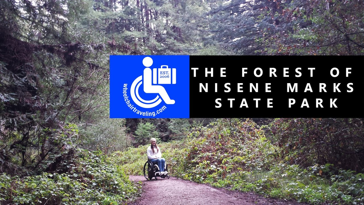 The Forest of Nisene Marks State Park + Wheelchair Hiking