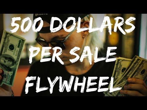 MAKE $500 PER SALE WITH FLYWHEEL AFFILIATE PROGRAM (HIGH TICKET) 💰